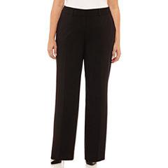 Liz Claiborne Sophie Slim Suiting Pant-Plus