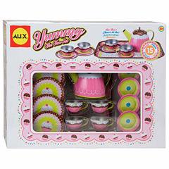 Alex Toys Yummy Tin Tea Set 15-pc. Play Food