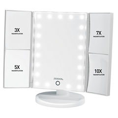 Jerdon Multi-Magnification LED Lighted Mirror