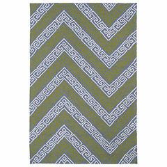 Kaleen Matira Chevron Hand Tufted Rectangular Rugs