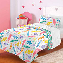 Dream Factory Candy Comforter And Sham Set
