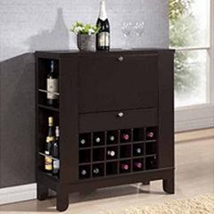 Baxton Studio Modesto Wine Cabinet