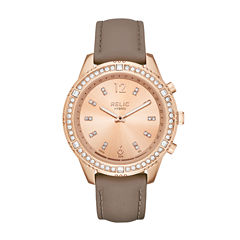Relic Connected Eliza Womens Rose Goldtone Smart Watch-Zrt1005