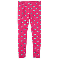 Carter's Hearts Knit Leggings - Toddler Girls
