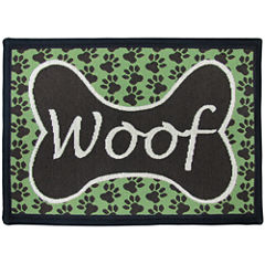 PB Paws by Park B. Smith® Woof Tapestry Pet Mat