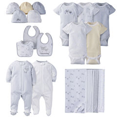 Gerber® 19 Piece Baby Neutral Lamb Layette Gift Set