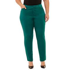 Boutique + Ankle Pants-Plus