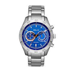 Relic Womens Two Tone Bracelet Watch-Zr15919