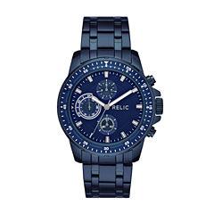 Relic Mens Blue Bracelet Watch-Zr15937