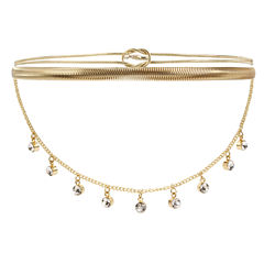 Nicole By Nicole Miller Womens Choker Necklace