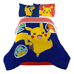 Pokemon 4-pc. Pokemon Midweight Reversible Comforter Set