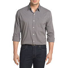 Van Heusen Long Sleeve Traveler Non Iron Stretch Shirt