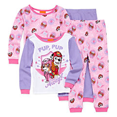 4-pc. Paw Patrol Pajama Set Girls