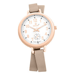 Decree Womens Rose Goldtone Strap Watch-Pt2519rgtn