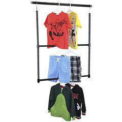 Oceanstar® 2-Tier Closet Hanger Rod