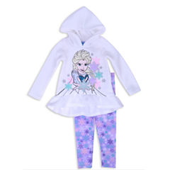 Disney Princess Frozen 2-pc. Pant Set Girls