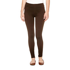 St. John's Bay Slim Fit Ponte Pull-On Pants