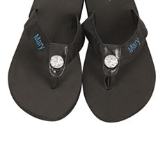 Cathy's Concepts Personalized Flip Flops