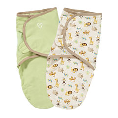 Summer Infant® 2-pk. Organic SwaddleMe® - Zoo
