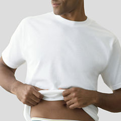 Stafford® 4-pk. Cotton Crewneck T-Shirts + Bonus Tee