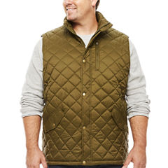 The Foundry Big & Tall Supply Co. Quilted Vest Big and Tall