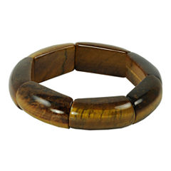Tiger's Eye Bangle Bracelet