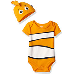 Disney Short Sleeve Finding Nemo Romper - Baby