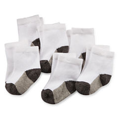 Okie Dokie® 6-pk Socks - Baby Boys newborn-24m