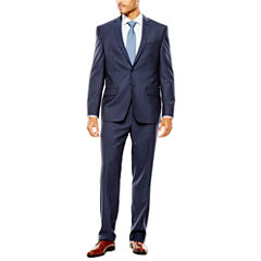 Collection by Michael Strahan Striped Navy Suit Separates - Classic Fit