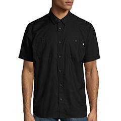 Vans Short Sleeve Button-Front Shirt