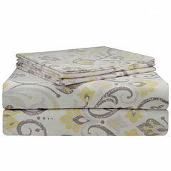 Pointehaven Superior Weight Flannel Sheet Set