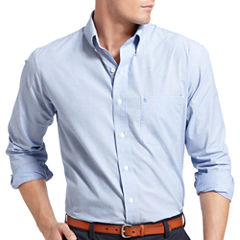 IZOD Essential Long-Sleeve Shirt