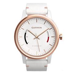 Garmin Vivomove Unisex White Smart Watch-0100159713