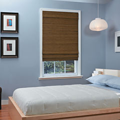 Natural Woven Bamboo Cordless Roman Shade