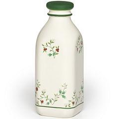 Pfaltzgraff® Winterberry 31-oz. Milk Jug with Lid