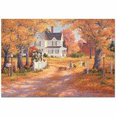 Educa® 1500-Pc. Autumn Leaves & Laughter Puzzle