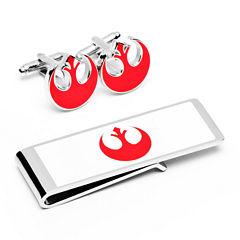 Star Wars® Rebel Alliance Cuff Links & Money Clip Gifts Set
