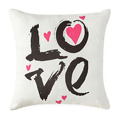 JCPenney Home™ Love Square Decorative Pillow