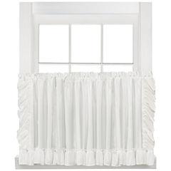 Sarah Cape Cod Rod-Pocket Window Tiers