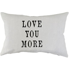 Park B. Smith® Love You More Decorative Pillow