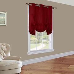 Weathermate Room-Darkening Grommet-Top Tie-Up Curtain Panel