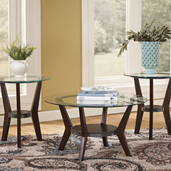 Signature Design By AshleyR Fantell 3 Piece Occasional Table Set