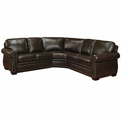 Brookly Roll-Arm Sectional