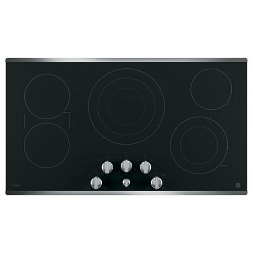 GE Profile™ 36 Built-In Knob Control Cooktop With 5 Elements