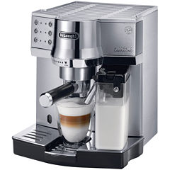 DeLonghi® Die-Cast Pump Espresso Cappuccino Maker EC860