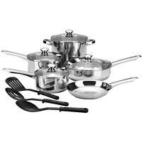 Cooks 12-Pcs. Essential Cookware Set