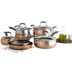 Epicurious® Copper 11-pc. Aluminum Nonstick Cookware Set