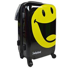 Smiley World Happy 22 Inch Hardside Luggage