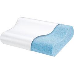 Comforpedic from Beautyrest® Cooling Gel Memory Foam Contour Pillow