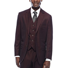 Steve Harvey® Merlot Suit Jacket